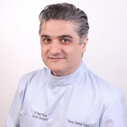 Invisalign Dentist; Dr Max Pura